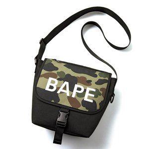 BAPE Camo Shoulder Crossbody Bag